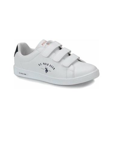 U.S. Polo Assn. Kadın Ayakkabı Singer 100910751 Beyaz